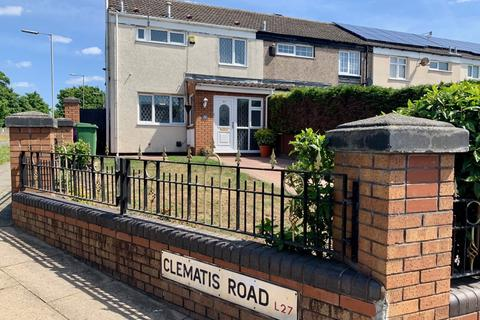 2 bedroom end of terrace house to rent - Clematis Road, Liverpool, Merseyside, L27