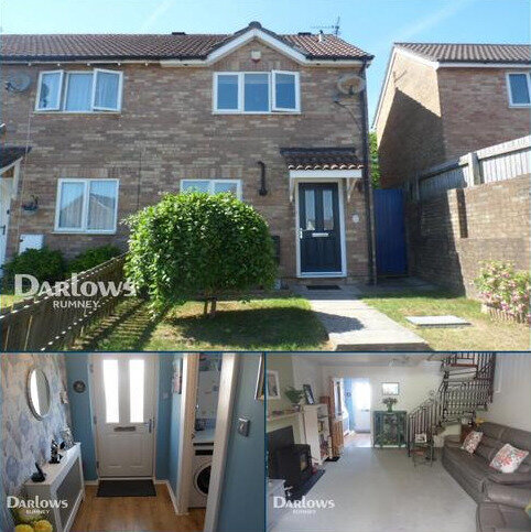 2 bedroom end of terrace house for sale - Sanderling Drive, Cardiff