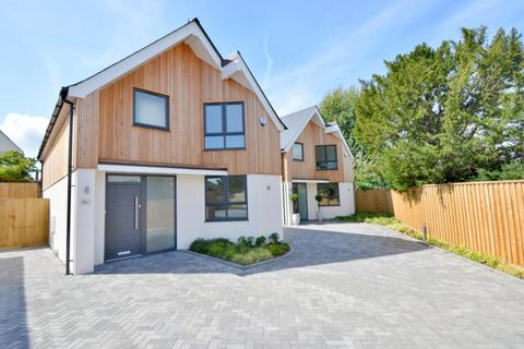 3 bedroom detached house for sale - Leslie Road, Whitecliff, Poole, BH14 8DN