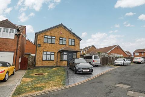 4 bedroom detached house for sale - Otterburn Drive, Ashington, Northumberland, NE63 8LP