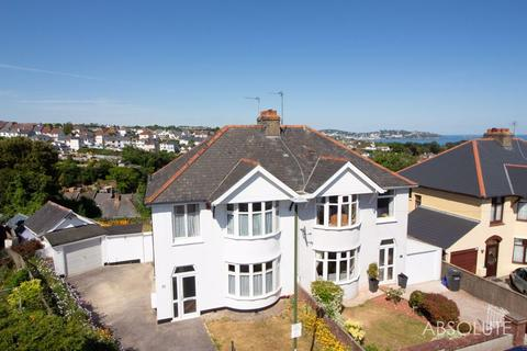 3 bedroom semi-detached house for sale - Barnfield Road, Paignton