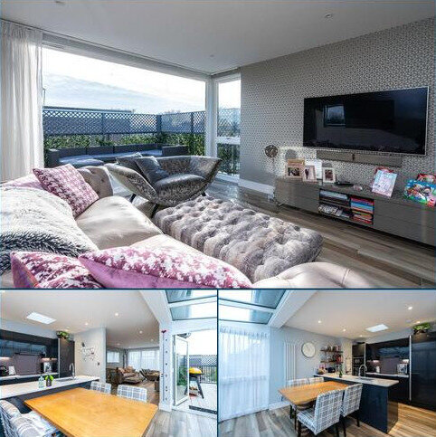 3 bedroom penthouse to rent - Warwick Court, 4 Lansdowne Road, London, SW20