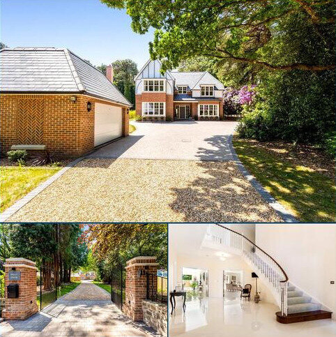 5 bedroom detached house for sale - Leicester Road, Branksome Park, Poole, Dorset, BH13