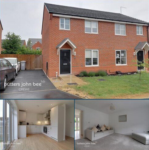 3 bedroom semi-detached house for sale - Wilding Drive, Crewe