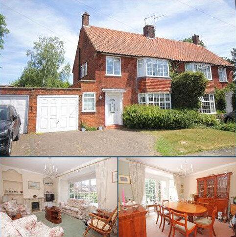 3 bedroom semi-detached house for sale - Parkfields, Welwyn Garden City, Hertfordshire