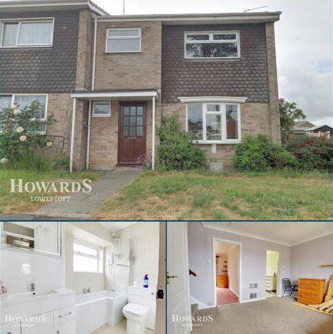 3 bedroom end of terrace house for sale - Leathes Close, Lowestoft