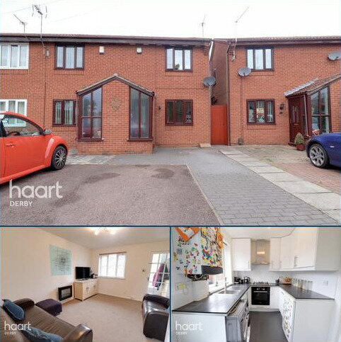 2 bedroom end of terrace house for sale - Pilgrims Way, Stenson Fields