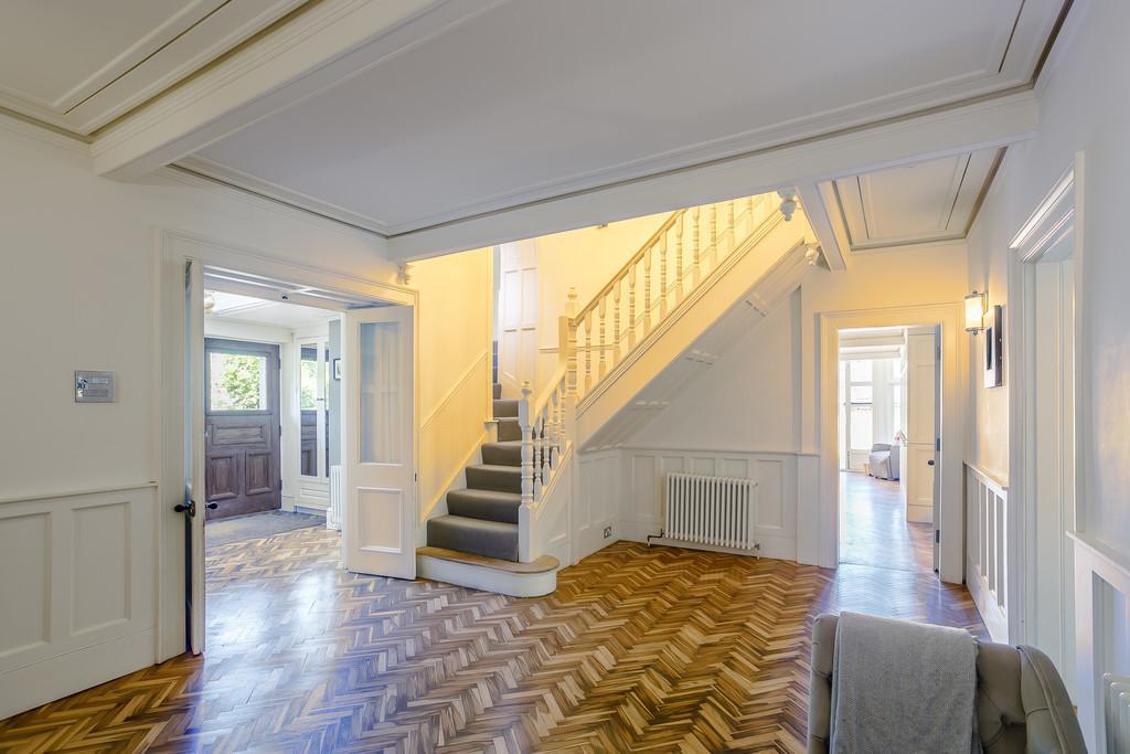 Grove House Entrance Hallway
