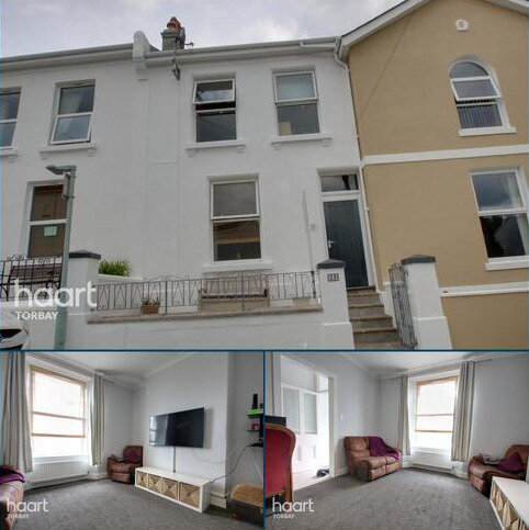 3 bedroom terraced house for sale - St Efrides Road, Torquay