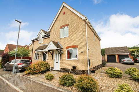 2 bedroom semi-detached house for sale - Red Admiral Close, Wymondham