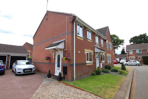 2 bedroom end of terrace house for sale - Morgans Way, Hevingham