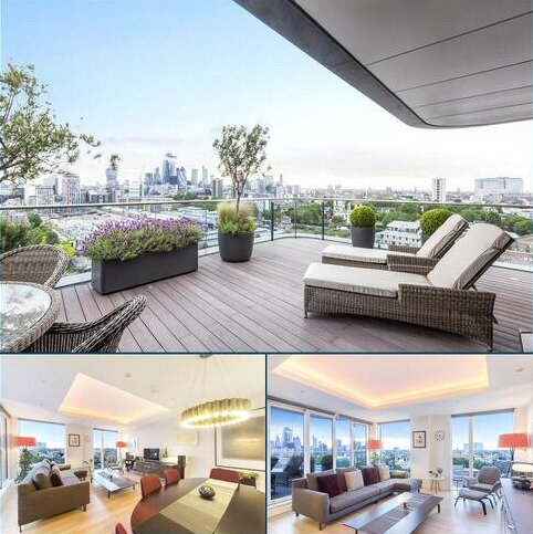 3 bedroom flat for sale - Park Vista Tower, 5 Cobblestone Square, London, E1W