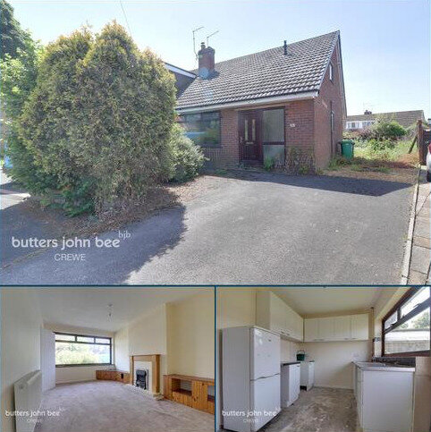 2 bedroom semi-detached bungalow for sale - Balfour Close, Crewe