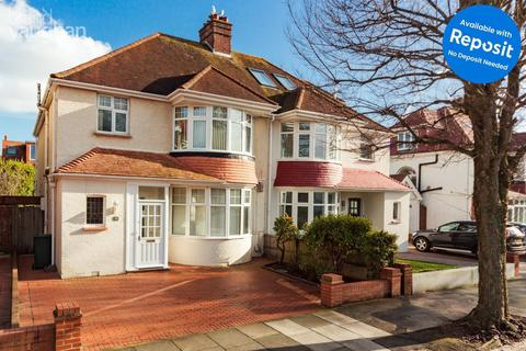 4 bedroom semi-detached house to rent - Braemore Road, Hove, BN3