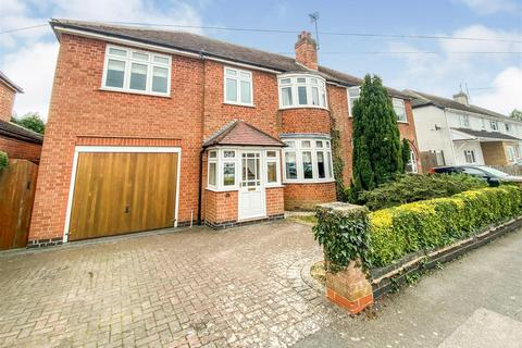 4 bedroom semi-detached house for sale - Kirloe Avenue, Leicester Forest East, Leicester