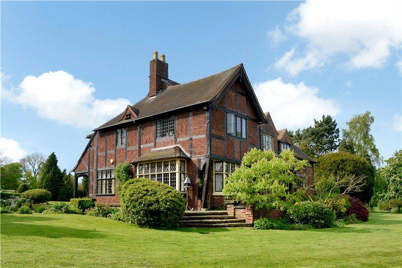 5 Bedrooms Detached House for sale in Waggon Lane, Bretby, Burton-On-Trent, Derbyshire