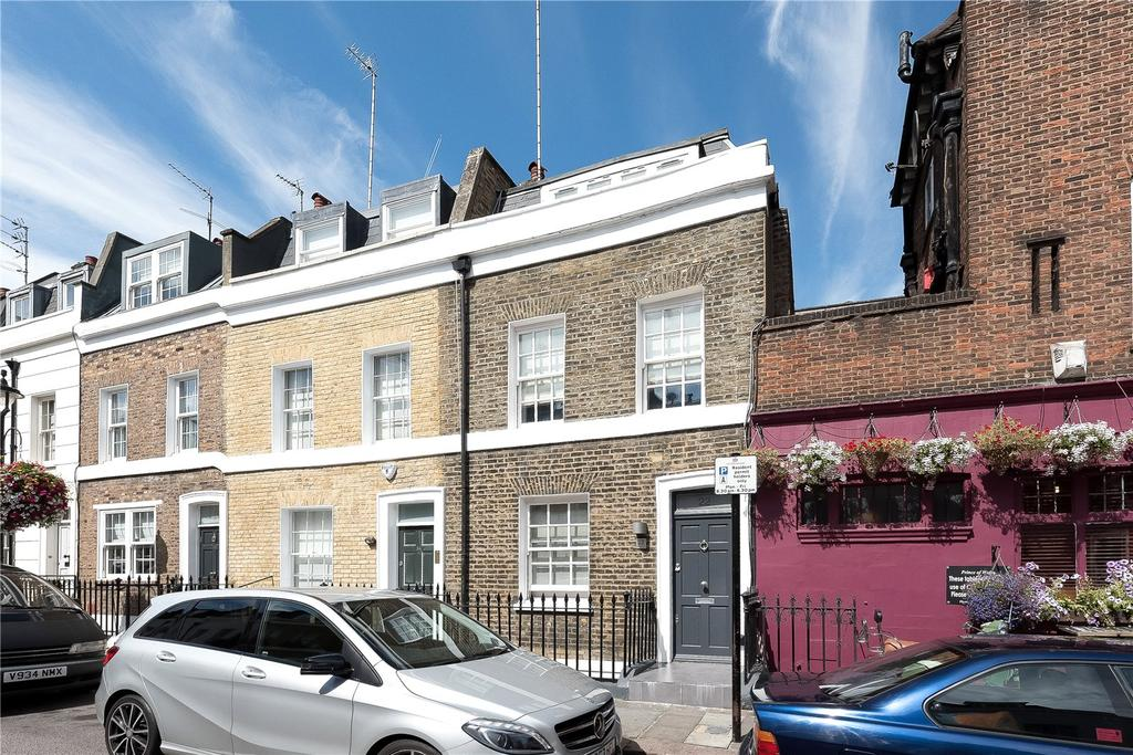 3 Bedrooms End Of Terrace House for sale in Longmoore Street, London