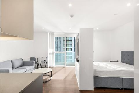 Studio to rent - Maine Tower, 9 Harbour Way, London, E14
