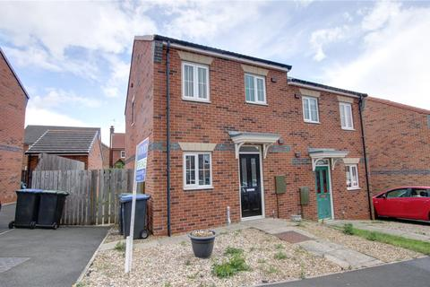 2 bedroom semi-detached house for sale - Redmire Drive, Consett, County Durham, DH8