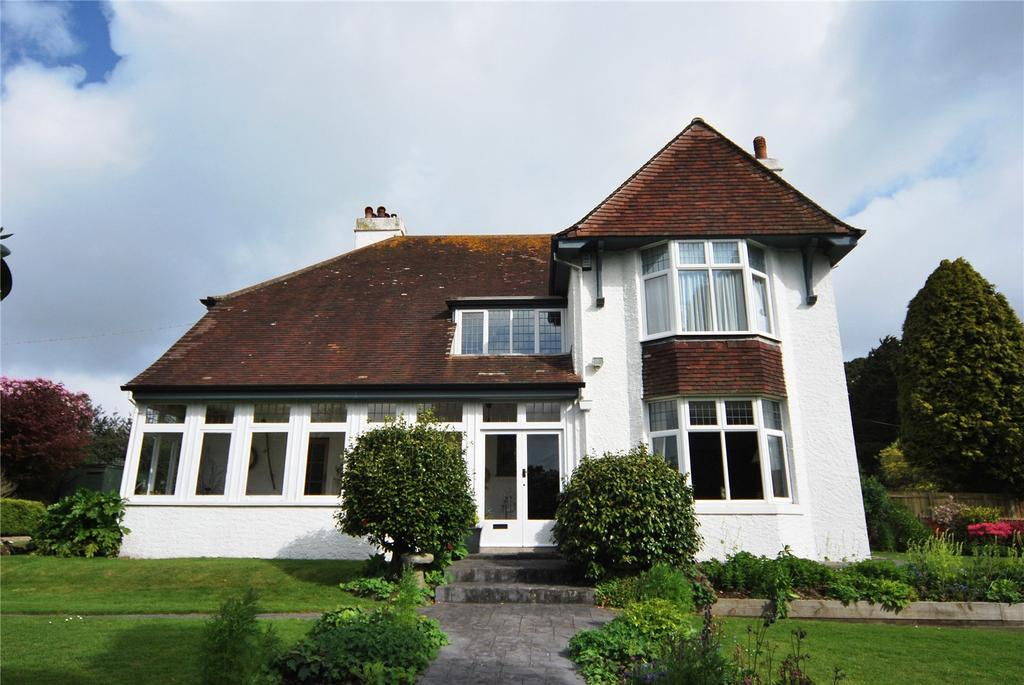 4 Bedrooms Detached House for sale in Poltair Road, St. Austell, Cornwall