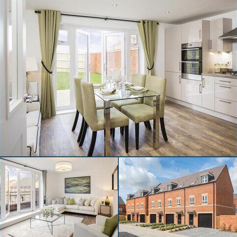 3 bedroom end of terrace house for sale - Plot 206, Hinton at The Chase @ Newbury Racecourse, Fetlock Drive, Newbury, NEWBURY RG14