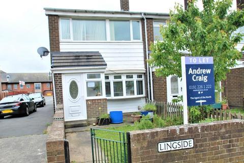 3 bedroom semi-detached house to rent - Lingside, Jarrow