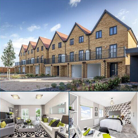 3 bedroom terraced house for sale - Plot 52, Fern at Barratt Homes at Chilmington, Hedgers Way, Kingsnorth, ASHFORD TN23