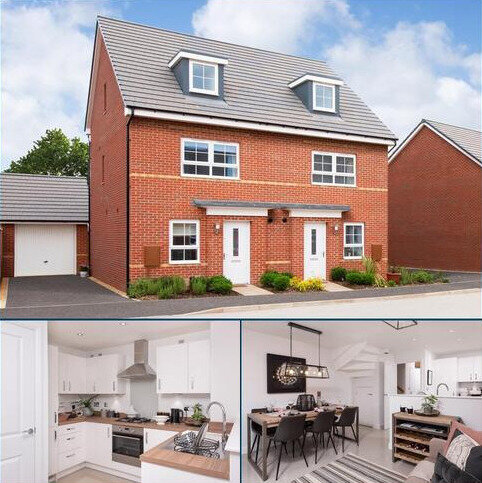 4 bedroom semi-detached house for sale - Plot 3, KINGSVILLE at Manor Farm, Brutus Court, North Hykeham, LINCOLN LN6