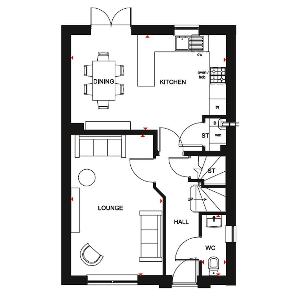 Floorplan 1 of 2: Chester GF
