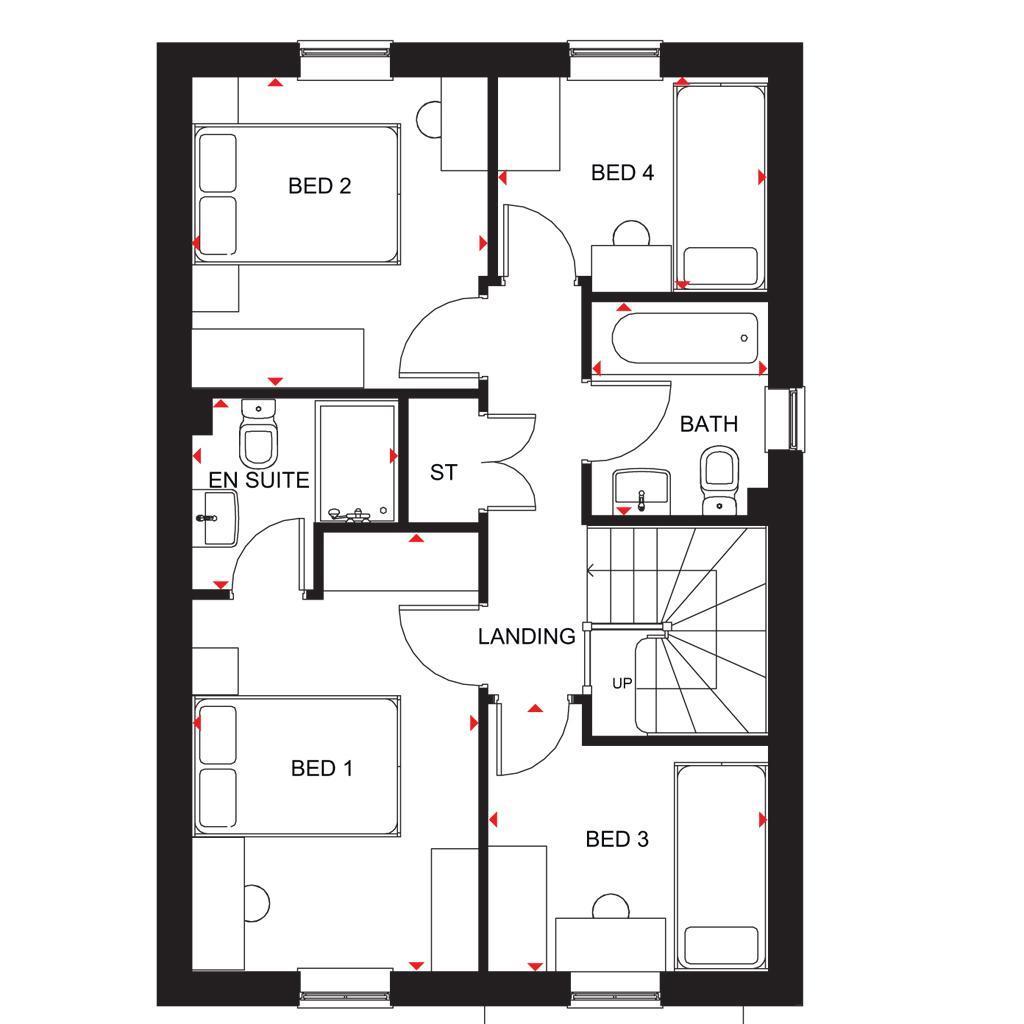Floorplan 2 of 2: Chester FF