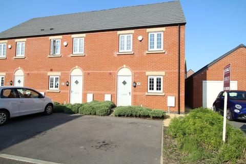 3 bedroom end of terrace house for sale - Southfield Avenue, Sileby