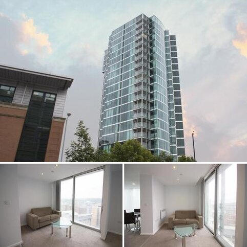 Studio to rent - Velocity Tower, St. Mary's Gate, Sheffield, S1 4LS
