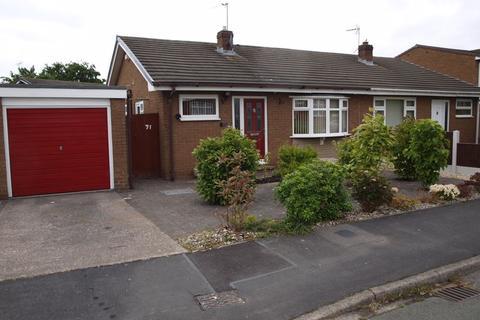 2 bedroom semi-detached bungalow for sale - Elmwood Road, Barnton, CW8 4NG