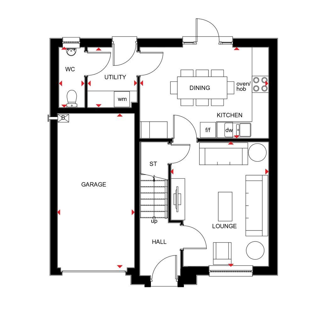 Floorplan 1 of 2: Fenton 2018 floorplan layout September 2019