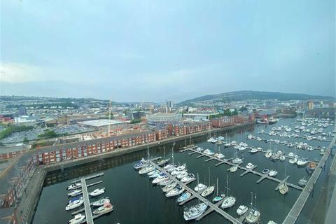 1 bedroom apartment for sale - Meridian Tower, Marina, Swansea