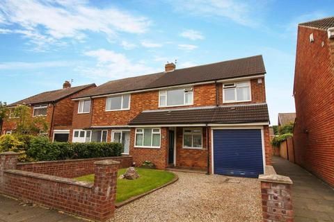 4 bedroom semi-detached house for sale - Wentworth Gardens, Whitley Bay