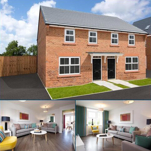 3 bedroom semi-detached house for sale - Plot 31, ARCHFORD at Scholars Place, Hassall Road, Alsager, STOKE-ON-TRENT ST7