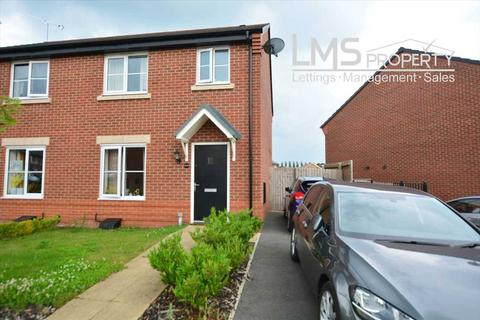 3 bedroom semi-detached house for sale - Gregory Crescent, Winsford