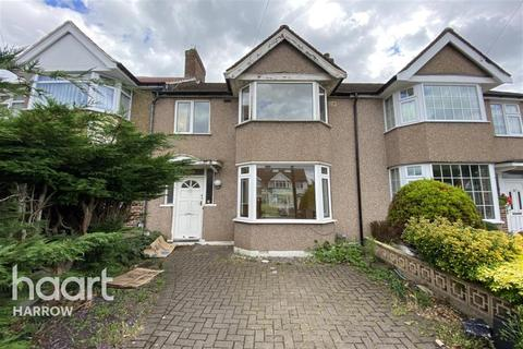 3 bedroom terraced house to rent - Fisher Road, Harrow, Middlesex, HA3