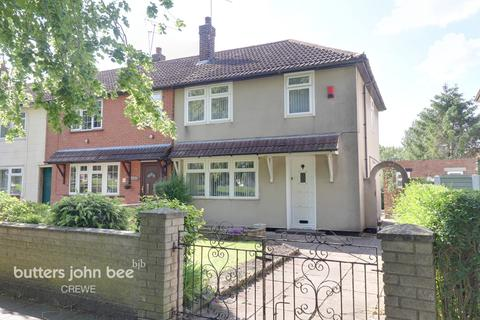 3 bedroom end of terrace house for sale - Sweet Briar Crescent, Wistaston Green, Crewe