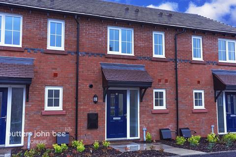 2 bedroom terraced house for sale - Samuel Broadhurst Place, Shavington, Crewe
