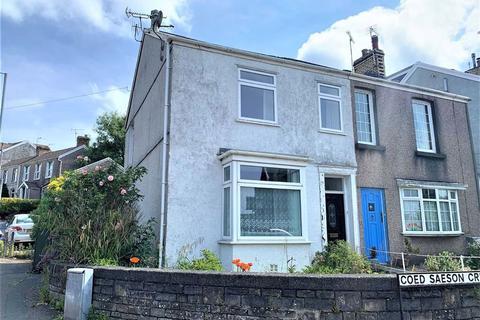 3 bedroom semi-detached house - Coedsaeson Crescent, Sketty