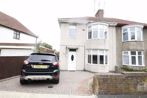 3 bedroom semi-detached house for sale - Fairholme Road, Off Queen Alexandra Road, Sunderland, SR3