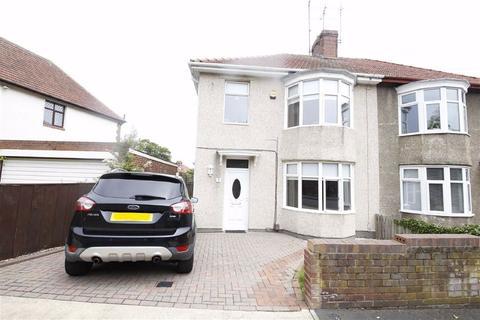 3 bedroom semi-detached house for sale - Fairholme Road, Off Queen Alexandra Road, Sunderland, SR3