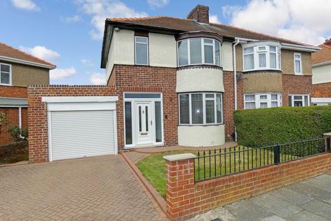 3 bedroom semi-detached house for sale - Jubilee Estate, Ashington, Northumberland, NE63 8TA