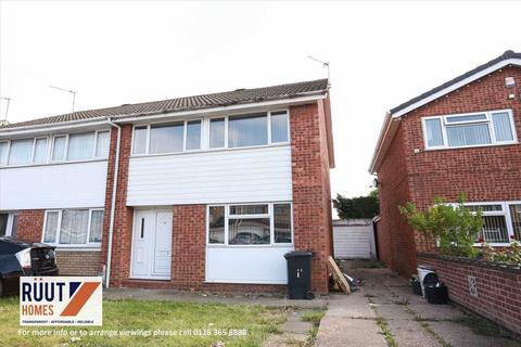 3 bedroom semi-detached house for sale - Braemer Drive, Leicester