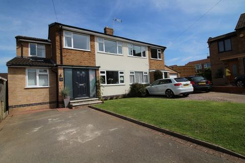 4 bedroom semi-detached house for sale - Tiverton Road, Loughborough