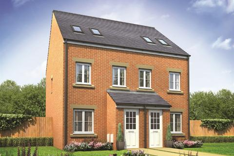 3 bedroom townhouse for sale - Plot 183, The Sutton at St Nicholas Manor, Somersby Gardens NE23
