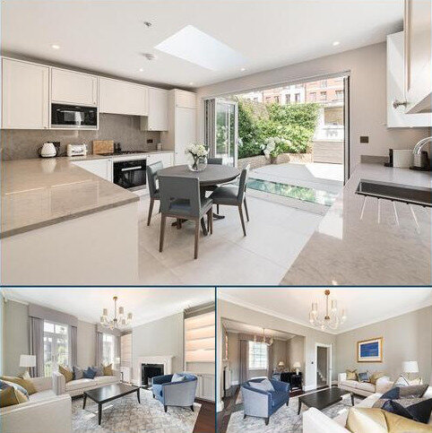 3 bedroom terraced house to rent - Trevor Square, Knightsbridge, London, SW7