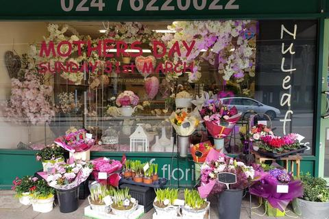 Retail property (high street) for sale - Leasehold Florists Located In Coventry